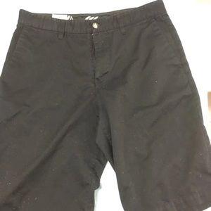 Volcom black dress shorts